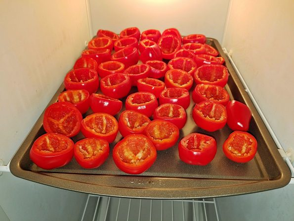 Freezing Peppers